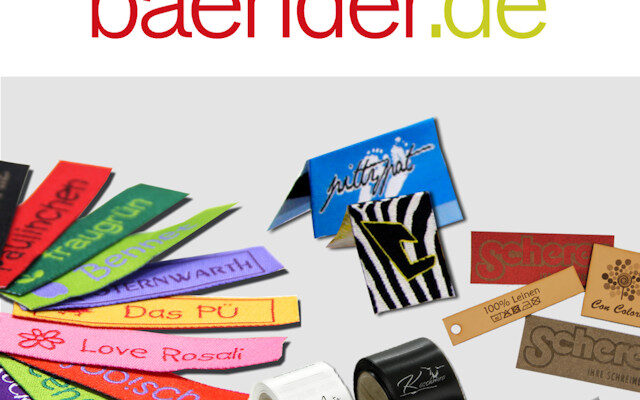 Etiketten Label namensbaender.de